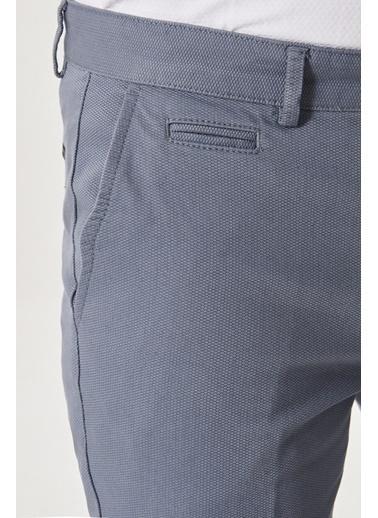 AC&Co / Altınyıldız Classics Slim Fit Dar Kesim Yan Cep Casual Pantolon 4A0121200022 Petrol